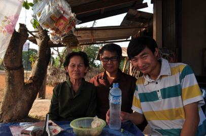 Lunch with My Laotian Brother and His Mom