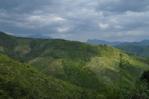 The Green Sea of Grass and Trees -- Moutains in Northern Laos