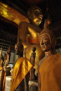 Buddha Statues in a Monastery