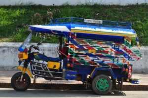 A Typical Tuk-Tuk in Laos